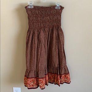 🌟6/$20 Tube dress or long skirt Sz S